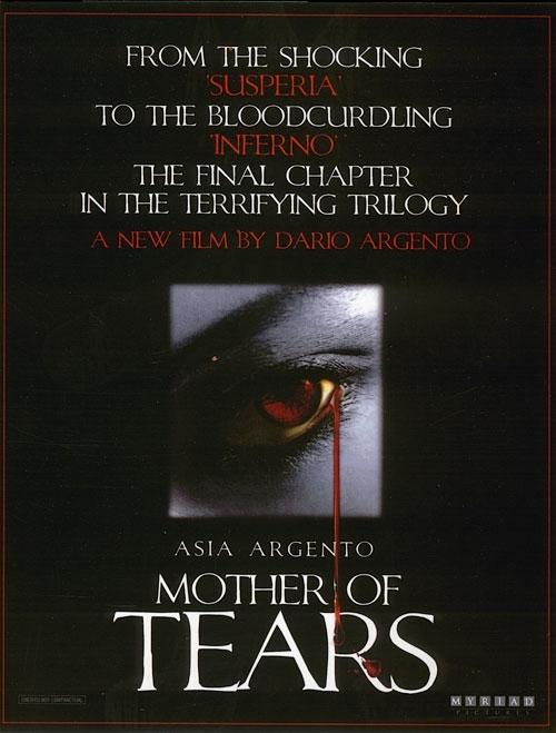 Un teaser poster americano de La terza madre