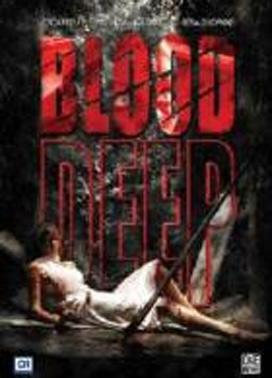 La copertina DVD di Blood Deep