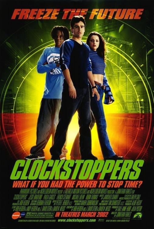 La locandina di Clockstoppers