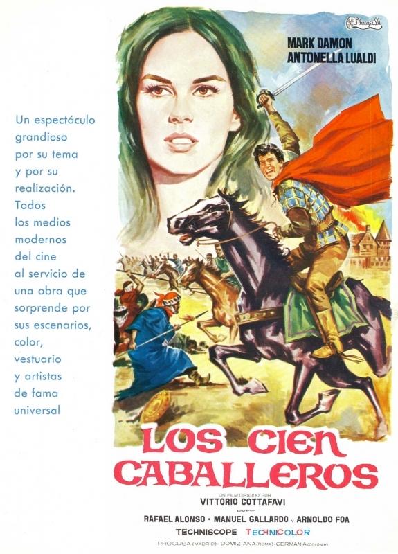 La locandina di I cento cavalieri