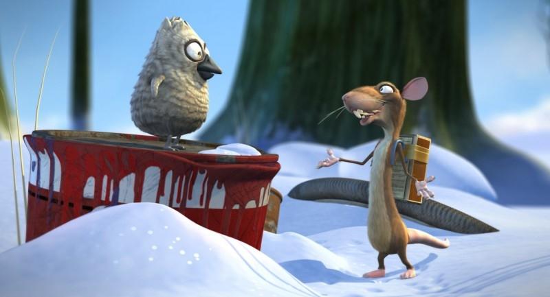 Una scena del film d'animazione Nome in Codice: Brutto Anatroccolo