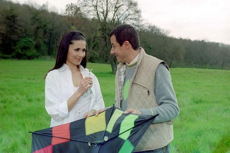 Barbara Turita e Giampiero Ingrassia in una scena del film Terapia Roosevelt di Vittorio Muscia