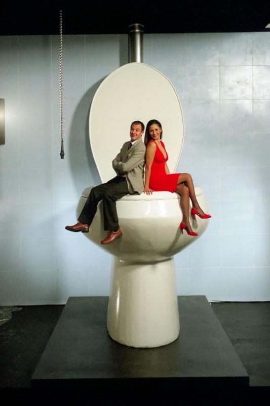Barbara Turita e Giampiero Ingrassia in una scena del film Terapia Roosevelt