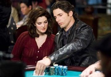 Eric Bana e Drew Barrymore in una sequenza de Le regole del gioco