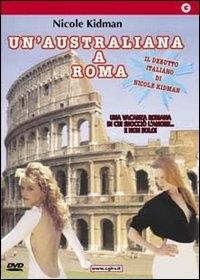 La locandina di Un'australiana a Roma