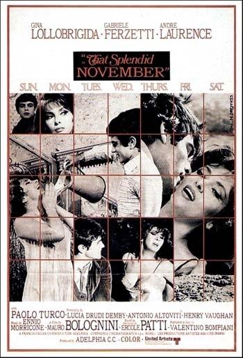 La locandina di Un bellissimo novembre