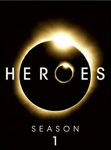 La copertina DVD di Heroes - Season 1