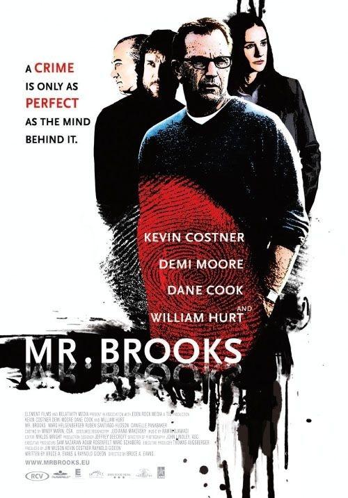 La locandina di Mr. Brooks
