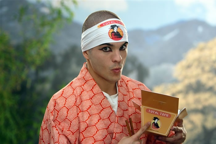Kuno Becker in versione Zoolander in una scena del film Goal! 2 Living the Dream