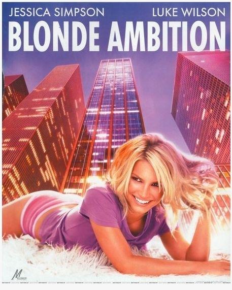 La locandina di Blonde Ambition