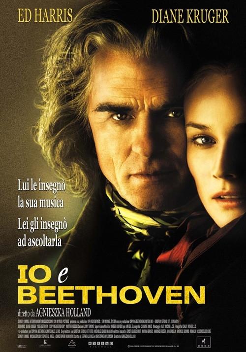 La locandina italiana di Copying Beethoven