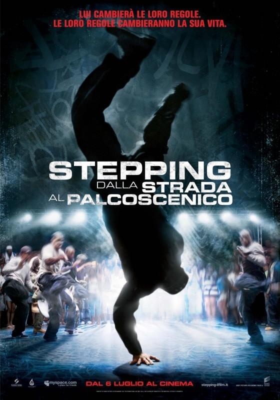 La locandina italiana di Stepping - Dalla strada al palcoscenico