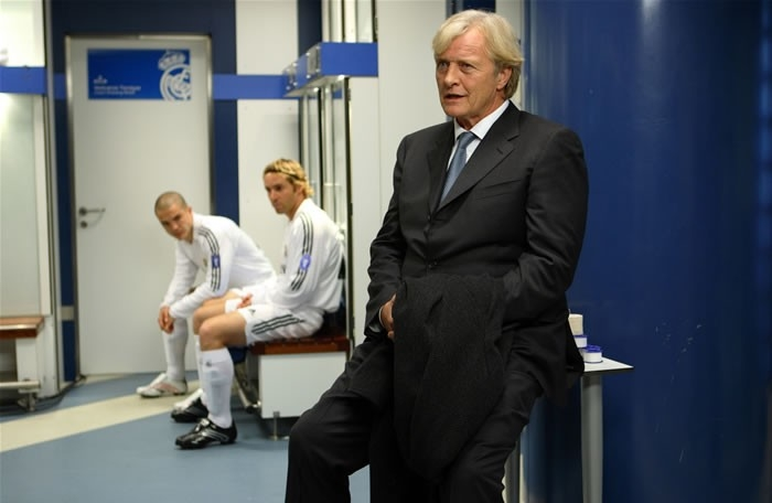 Rutger Hauer in una scena del film Goal! 2 Living the Dream