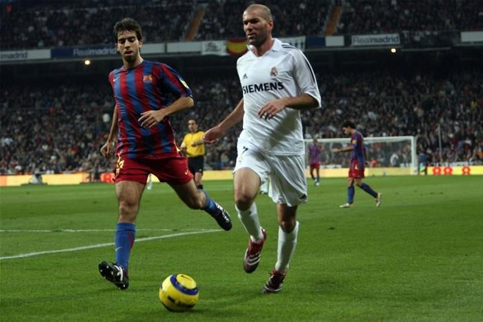 Zidane in una scena del film Goal! 2 Living the Dream