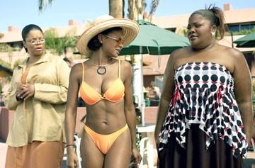 Kendra Johnson, Joyful Drake e Monique Imes in una scena di Phat Girlz