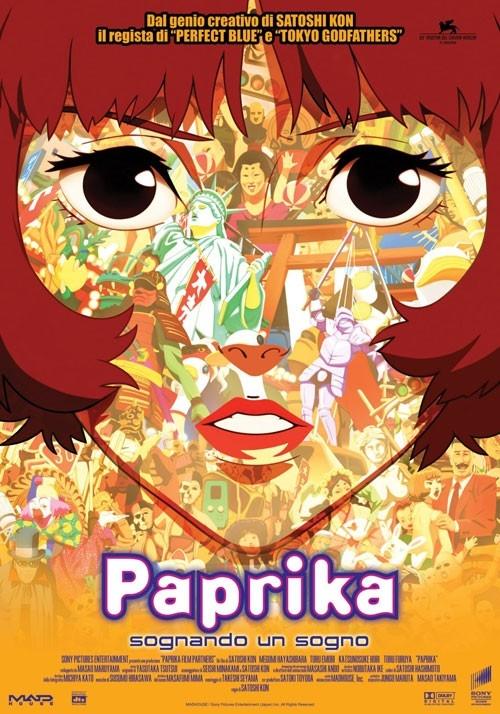 La locandina italiana di Paprika