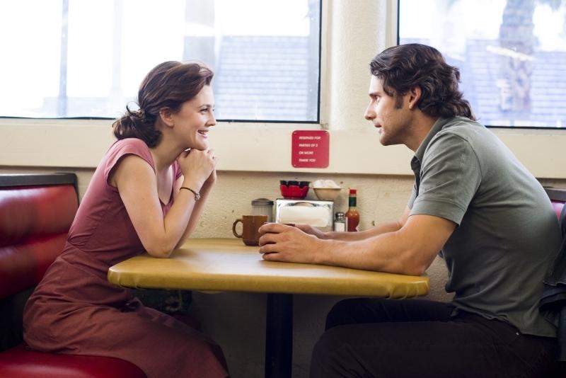 Eric Bana e Drew Barrymore in una scena di Lucky You