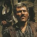 Gianmaria Volontè in una scena del film PER UN PUGNO DI DOLLARI