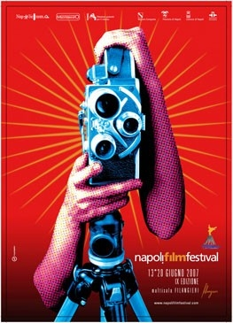 Il manifesto dell'edizione 2007 del NapoliFilmFestival