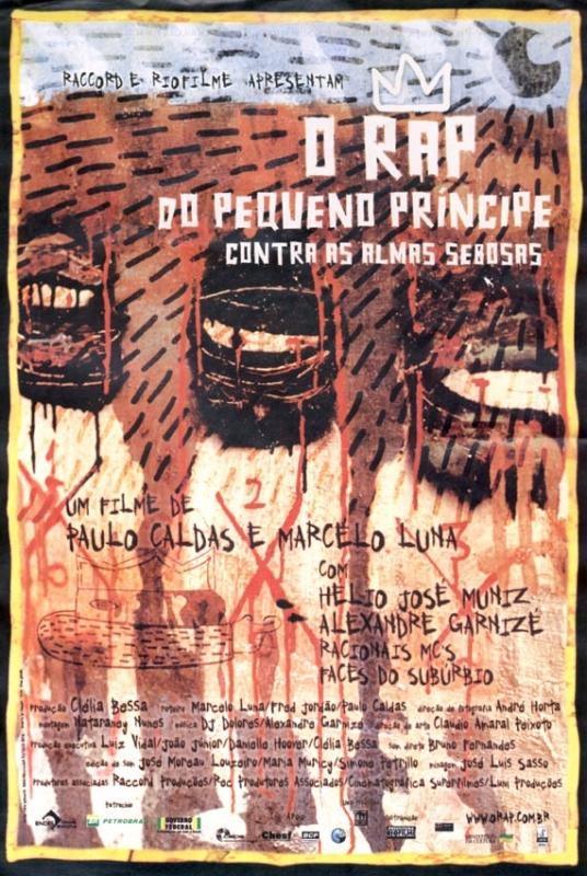 La locandina di Il rap violento delle favelas