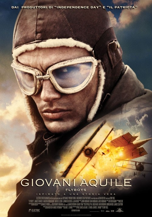 La locandina italiana di Flyboys