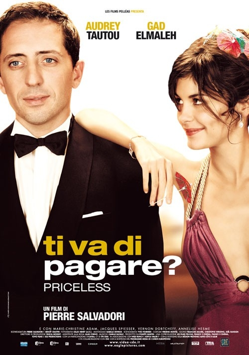 La locandina italiana di Ti va di pagare? - Priceless