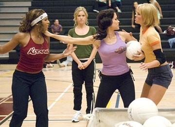 Arielle Kebbel con Sophia Bush e Ashanti in una scena di John Tucker Must Die