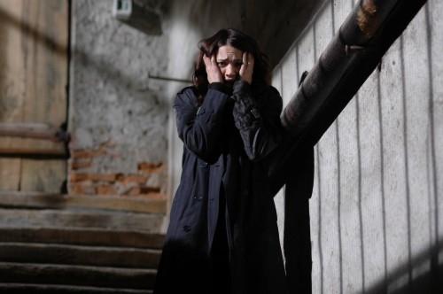 Asia Argento in una scena drammatica del film La terza Madre