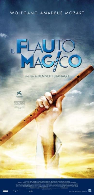 La locandina di Il flauto magico