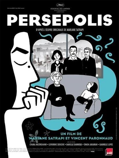 La locandina di Persepolis