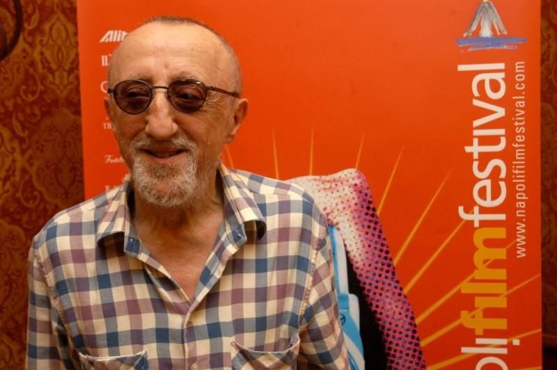 Carlo Delle Piane al Napoli Film Festival, nel 2007
