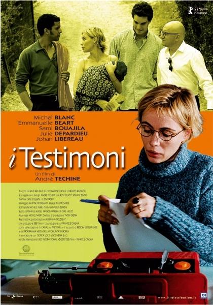 La locandina italiana di I testimoni