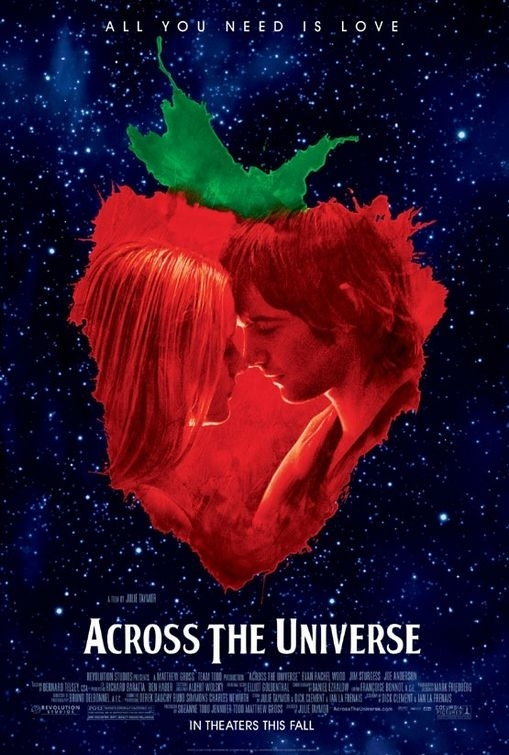 La locandina di Across the Universe