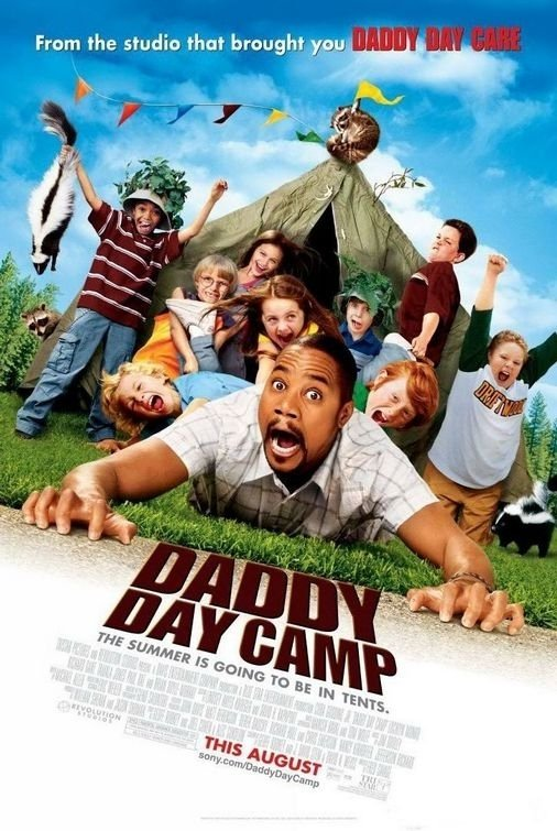 La locandina di Daddy Day Camp