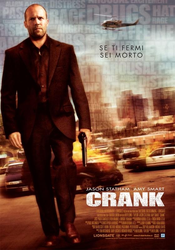 La locandina italiana di Crank