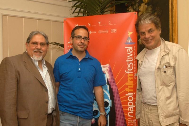 Michele Placido ospite al Napoli Film Festival 2007