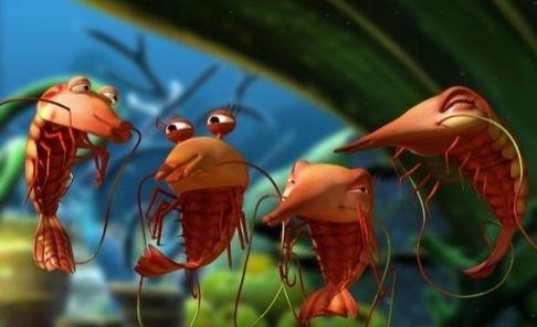 Una scena del cartoon The Reef - Amici per le pinne