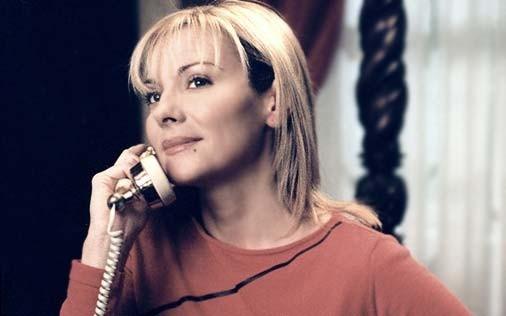 Kim Cattrall in una scena di Sex and the City, episodio Desideri particolari