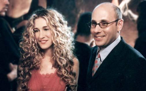 Willie Garson e Sarah Jessica Parker in una scena di Sex and the City, episodio Amore e sesso