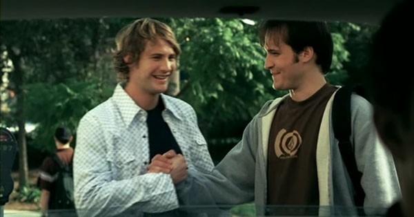 Derek Richardson e Scott Whyte in una scena del film Reeker
