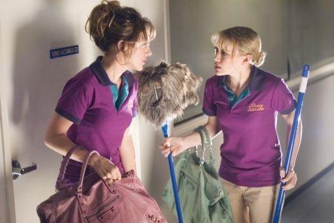 Haylie e Hilary Duff in una immagine di Material Girls