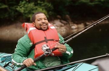 Ice Cube in una scena di Finalmente a casa