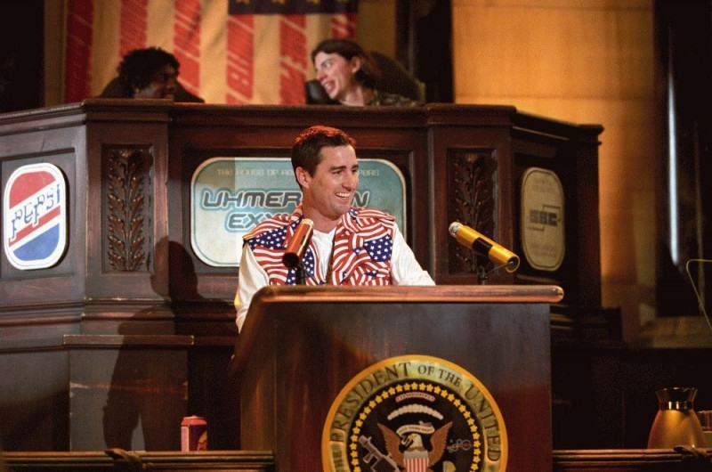 Luke Wilson in una scena del film Idiocracy