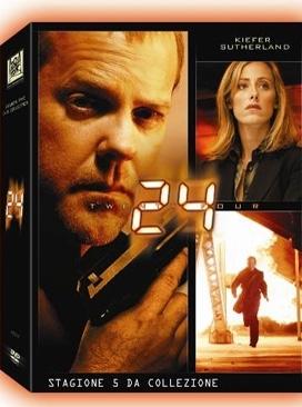 La copertina DVD di 24 - Stagione 5