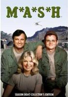 La copertina DVD di MASH - Stagione 8