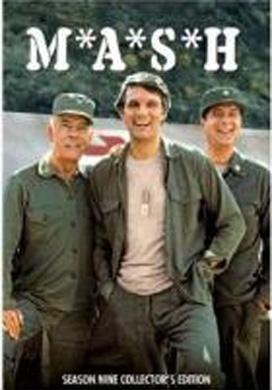 La copertina DVD di MASH - Stagione 9
