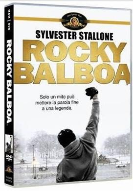 La copertina DVD di Rocky Balboa