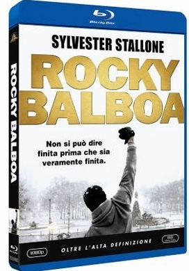 La copertina DVD di Rocky Balboa (Blu-Ray)
