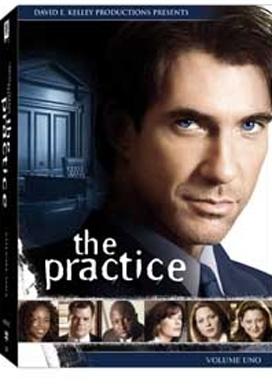 La copertina DVD di The Practice - stagione 1