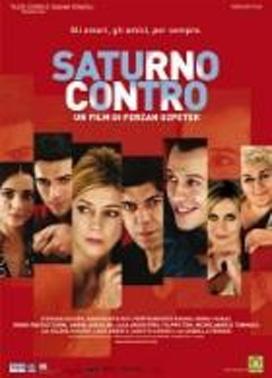 La copertina DVD di Saturno contro